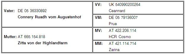 Stammbaum Zeta1